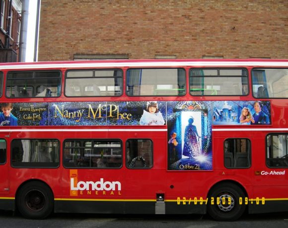 Nanny Mcphee bus led project