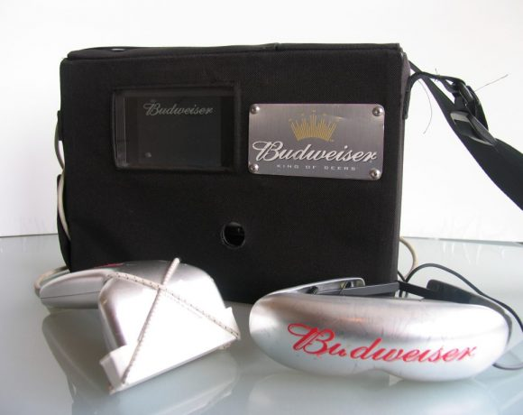 Budweiser interractive display unit