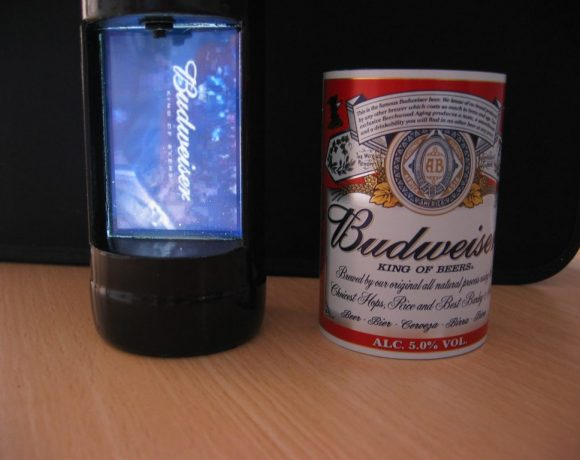 Budweiser hidden video prise